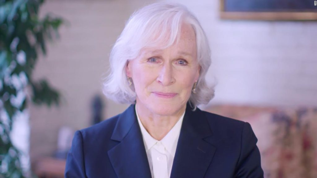 Oscar nominee Glenn Close is on a mission to end the stigma surrounding mental illness