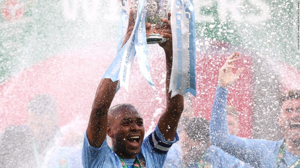Manchester City clinches fourth consecutive League Cup title in front of fans
