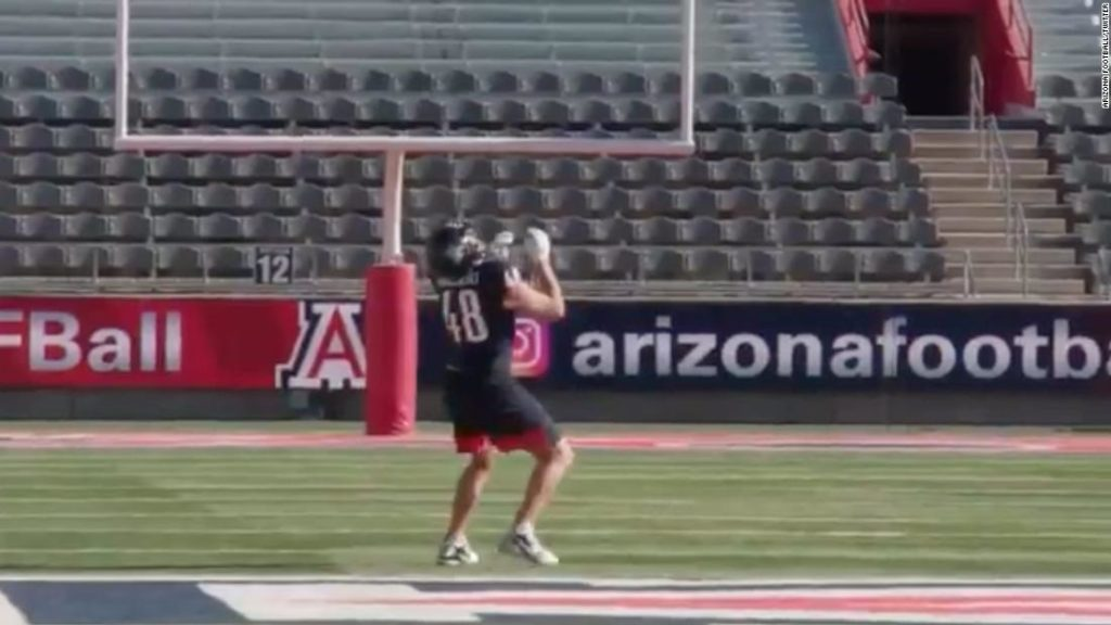 NFL superstar Rob Gronkowski sets world record with 600-foot catch