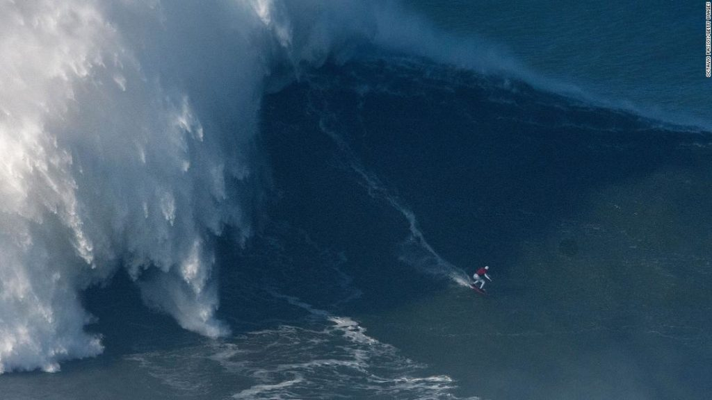 How Maya Gabeira overcame a life-threatening accident to surf two record-breaking waves