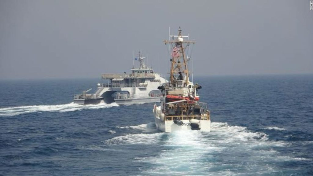 US says Iran's Navy harassed Coast Guard in Persian Gulf earlier this month