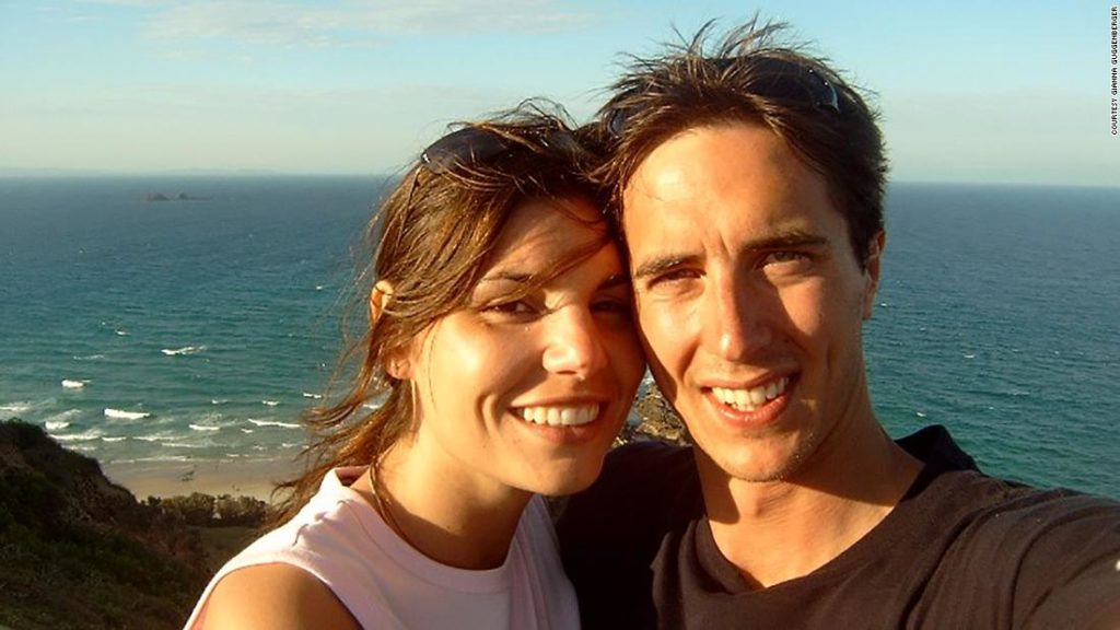 The Australian-German couple who met on the beach at Byron Bay
