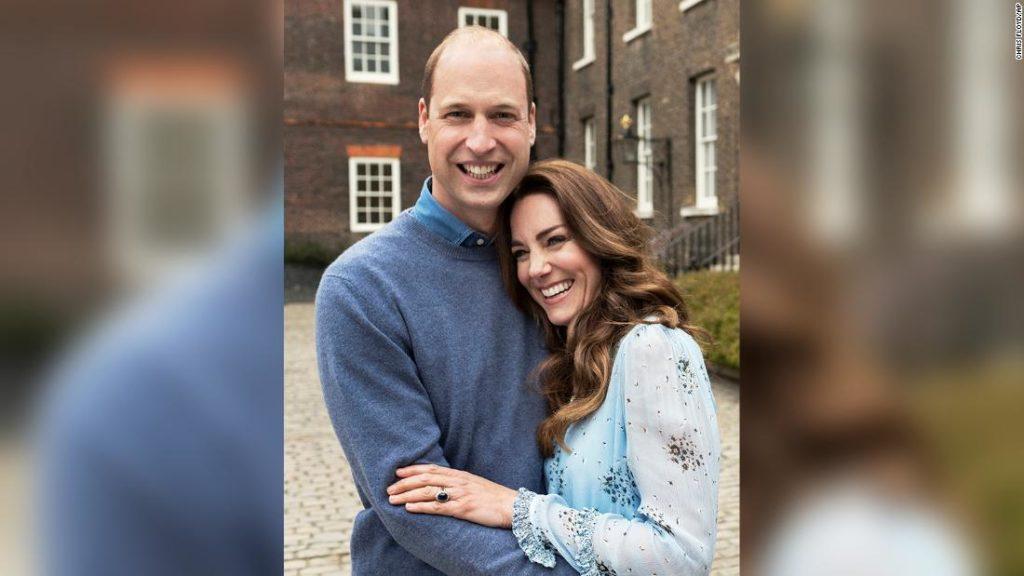 Prince William and Kate photos mark 10-year wedding anniversary