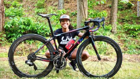 After teaching her last music class in Atlanta in 2018, McGowan made the commitment to pursuing a professional career in cycling, achieving her goal earlier this year.