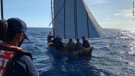 Cubans are embarking on treacherous sea journeys as the economic crisis worsens
