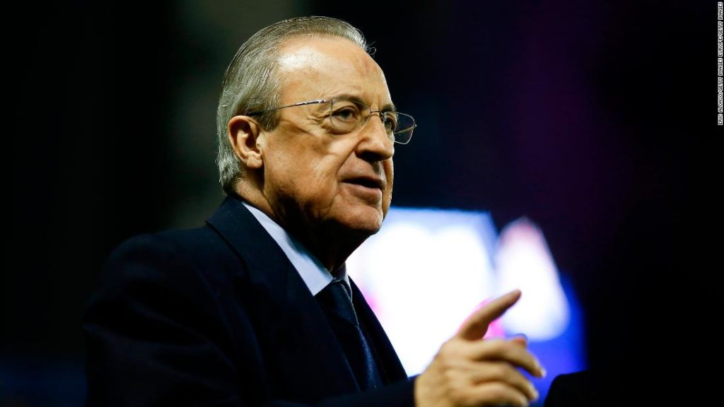 Florentino Perez insists Super League isn't canceled, only on 'standby'