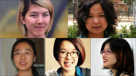 Fighting for their rights landed these young Chinese feminists in jail