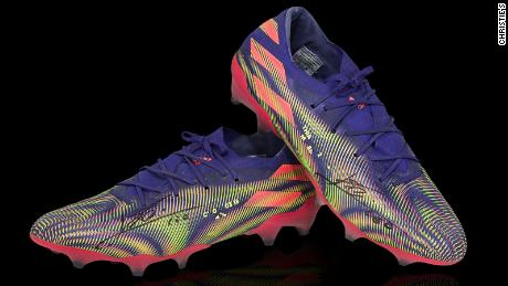These boots were made for scoring goals ...