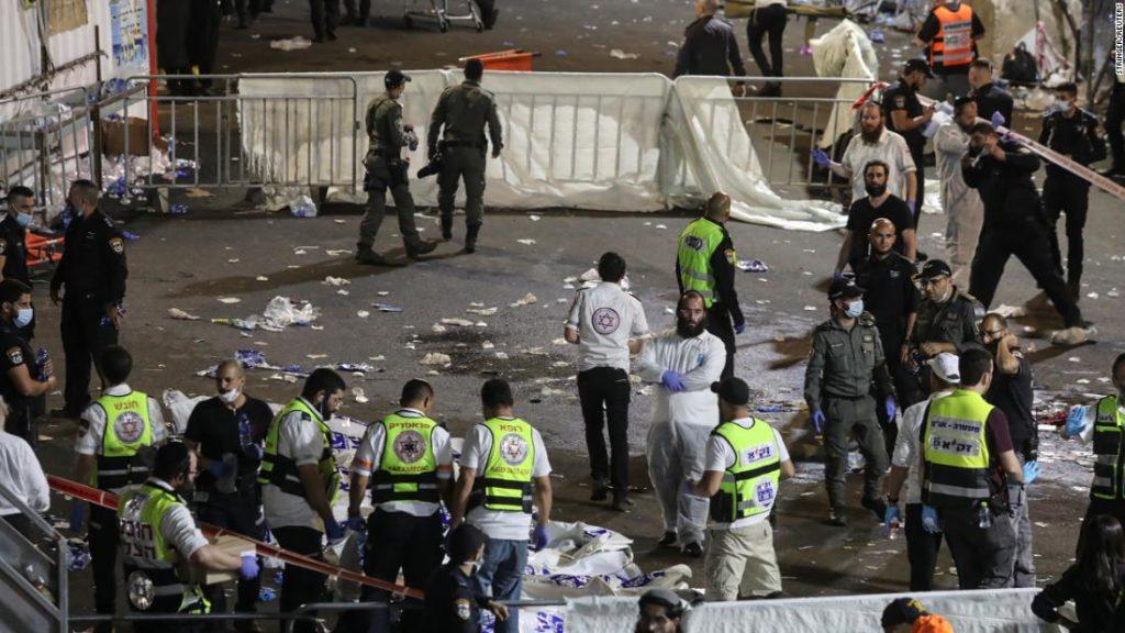 Israel, Mount Meron: Crush kills 45 people at Jewish event