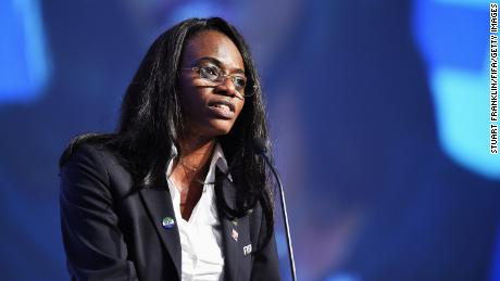 Isha Johansen is the first West African woman elected to FIFA's council.