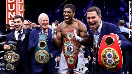 Eddie Hearn: 'The razzmatazz is important,' says boxing promoter