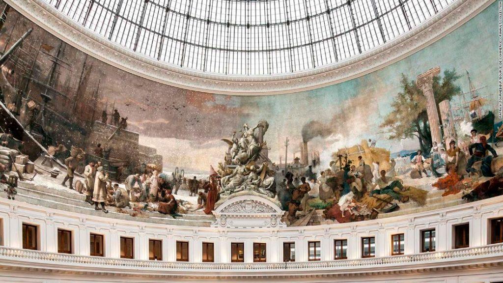 Inside the Bourse de Commerce, Paris' new $195 million art museum