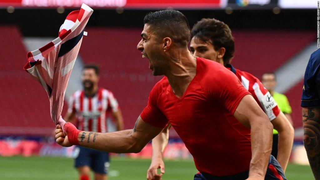 Atletico Madrid closes in on La Liga title with dramatic comeback