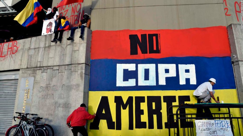 Copa América: Colombia will no longer co-host tournament, CONMEBOL rejects request for postponement