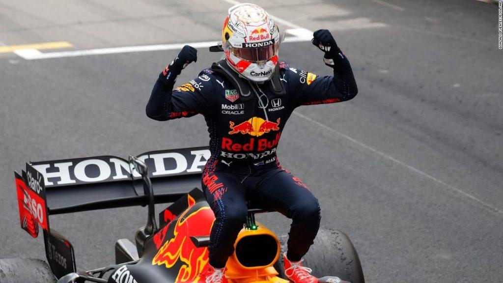 Max Verstappen wins Monaco Grand Prix to take drivers' championship lead