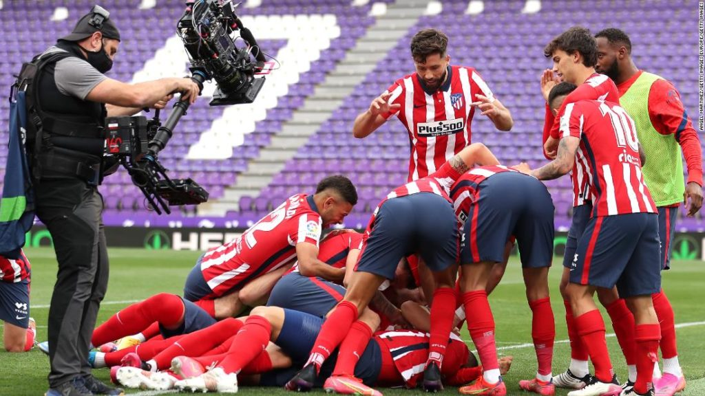 Atletico Madrid wins La Liga title for the first time since 2014 in a dramatic final day