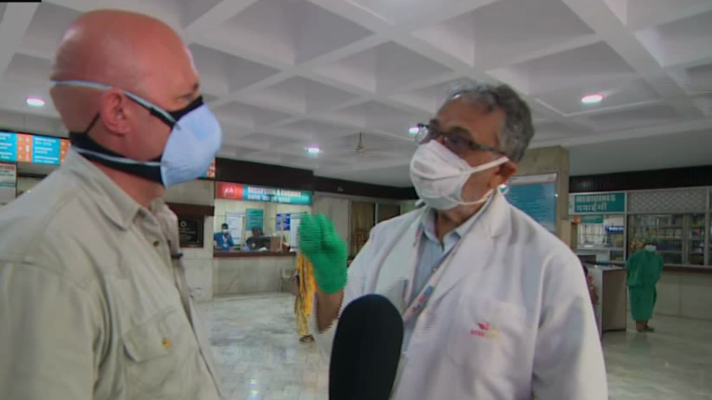 CNN speaks to doctor on the front lines in India's Covid-19 crisis