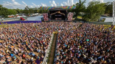 A picture from Bonnaroo Music & Arts Festival in 2019.