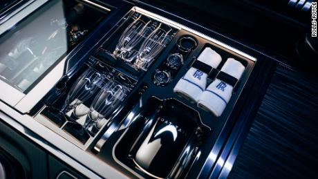 The storage area in the back of the Boat Tail is cooled to protect food and keep drinks at the proper temperature.