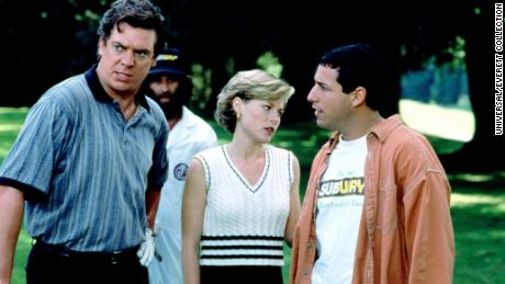 """Christopher McDonald (L) says that, once he read the role of Shooter McGavin, he knew he'd """"be an idiot to turn this down."""""""