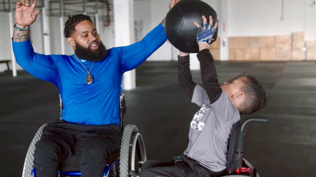 Paralyzed by a shooting, he now helps others with disabilities take control of their lives