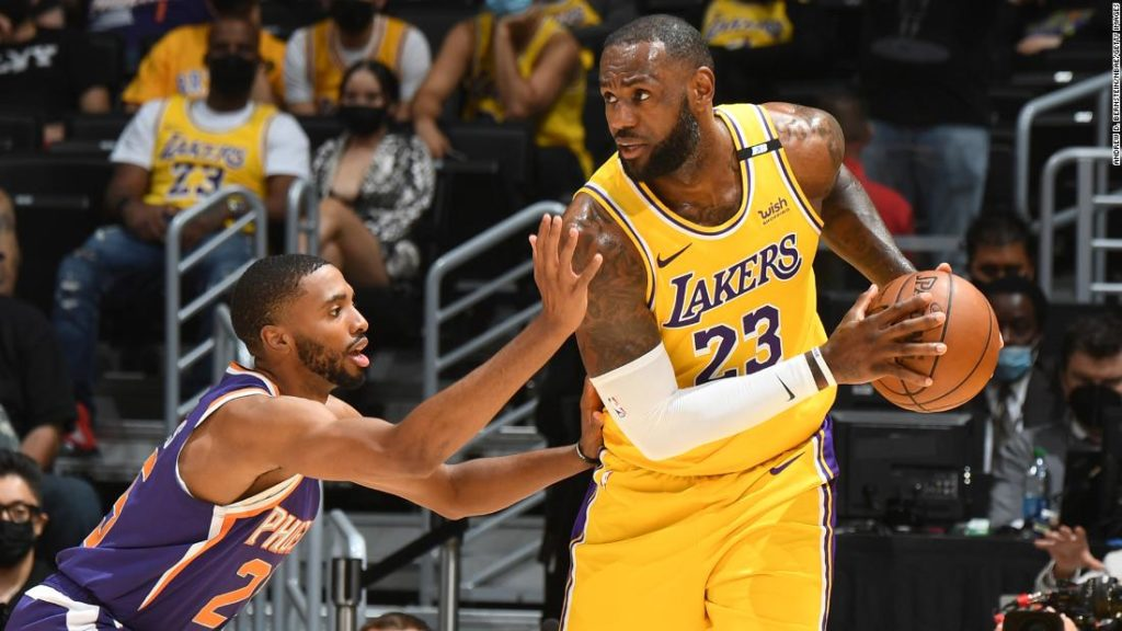NBA Playoffs: LeBron James' perfect record in first-round series ends with elimination loss to Phoenix Suns