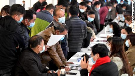 The Chinese government has banned discrimination against women in the hiring process, but discriminatory practices have continued.