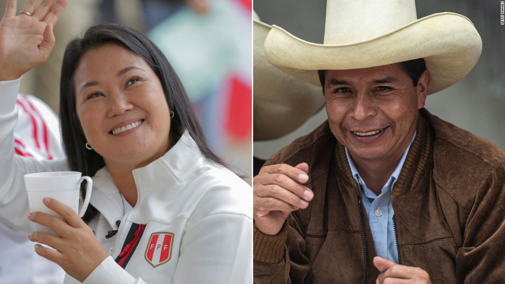 Peru elections 2021: Results too close to call, but Keiko Fujimori leads in preliminary tally