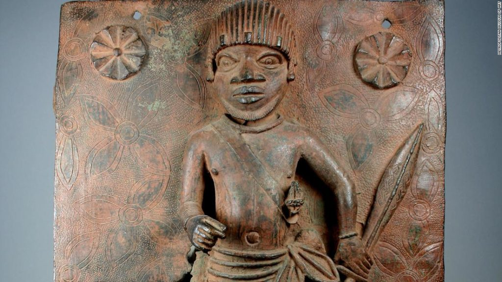 The Met will return three African art objects to Nigeria