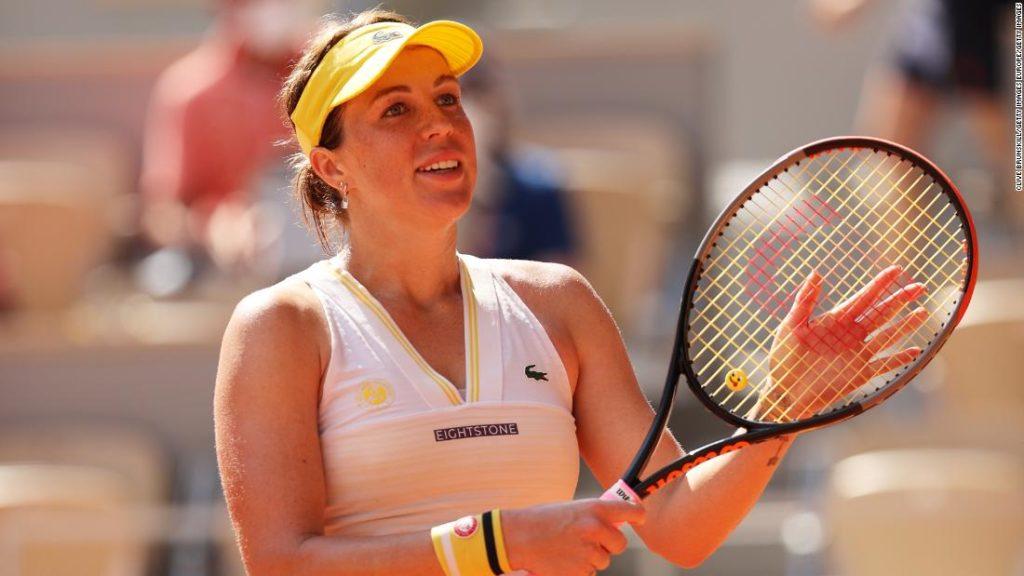 French Open: Anastasia Pavlyuchenkova defeats Tamara Zidanšek to reach maiden grand slam final