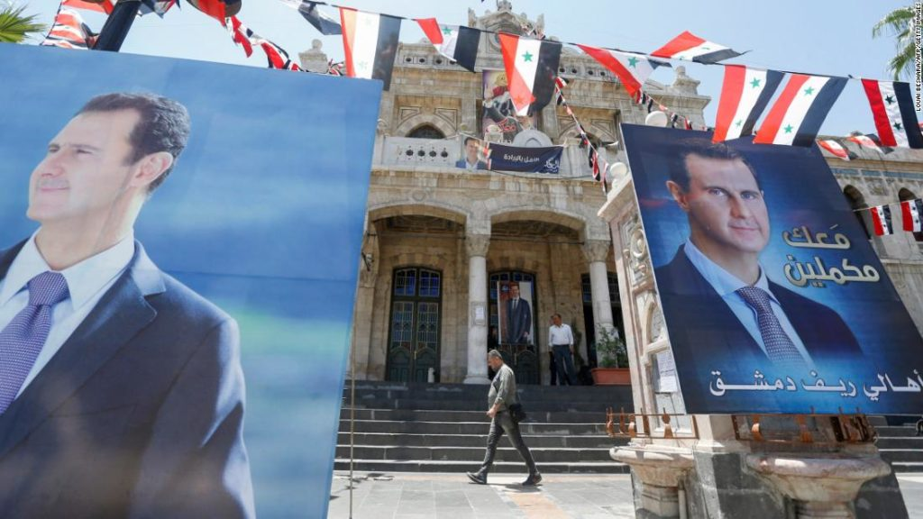 The US should deal with Assad