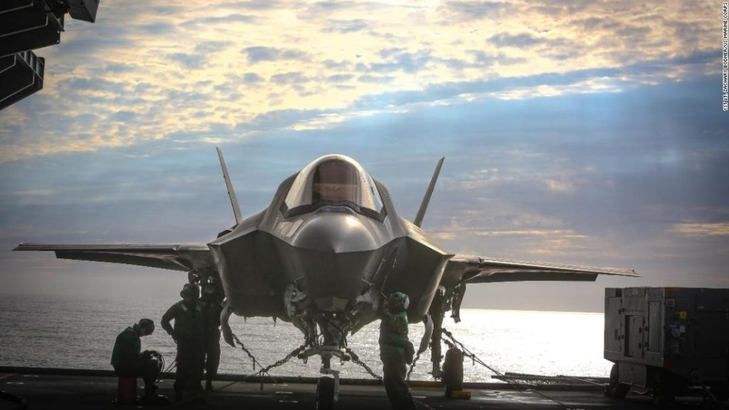 US F-35B fighter jets fly first combat missions off foreign aircraft carrier since World War II