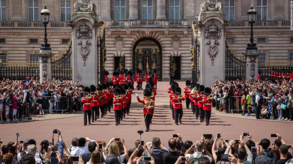 Only 8.5% of Buckingham Palace employees are people of color