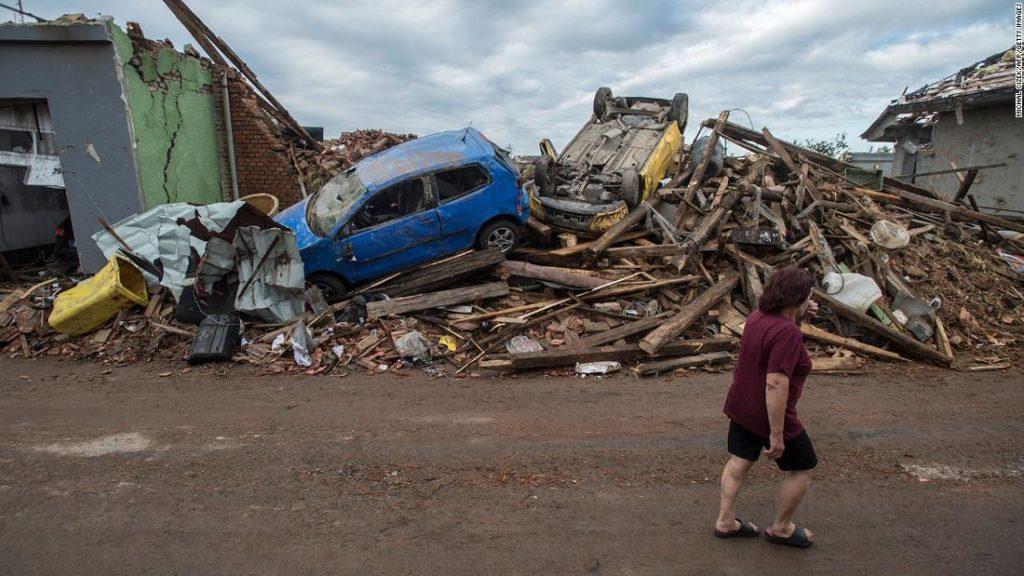 Czech tornado: 3 killed as rare storm hits villages