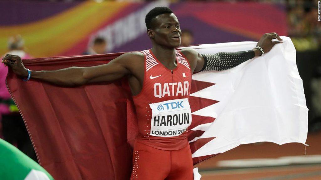 Abdalelah Haroun: Qatari sprinter dies aged 24