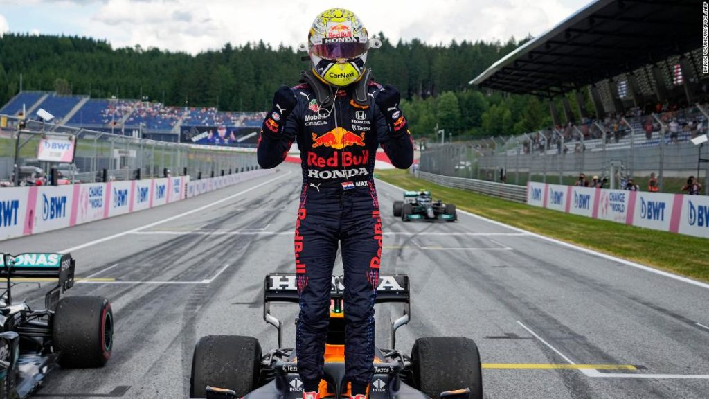 Max Verstappen leads from start to finish at Styrian Grand Prix to extend F1 title race advantage