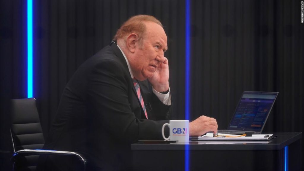 Andrew Neil takes break from GB News after just two weeks