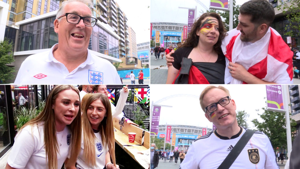 England-Germany Euro 2020: See ecstatic fans celebrate England's historic win
