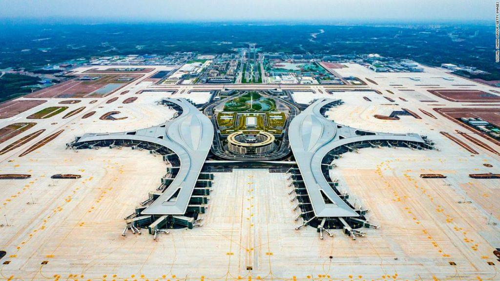 China's Chengdu Tianfu International Airport is officially open