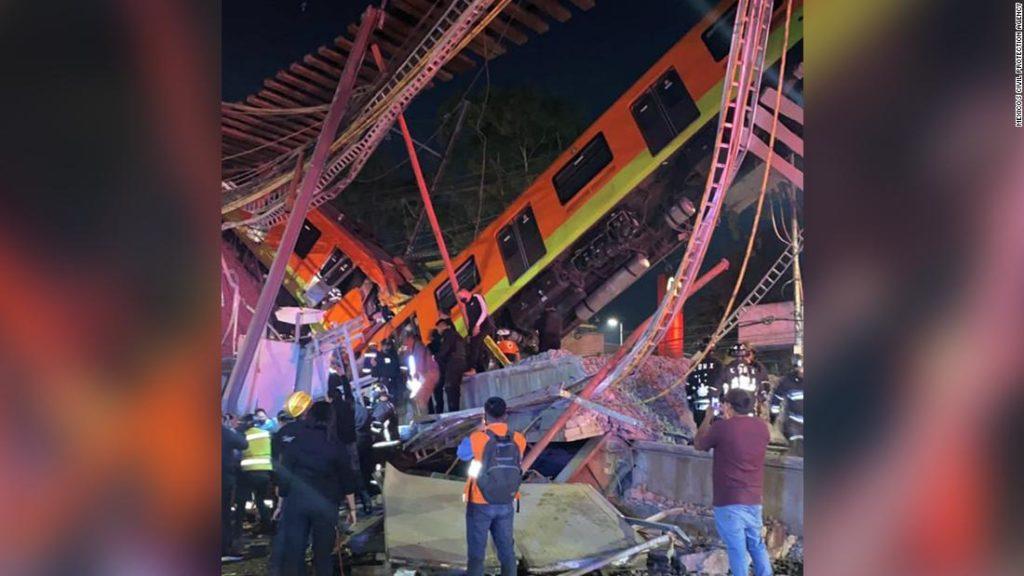 Mexican billionaire Carlos Slim to rebuild Mexico City subway overpass at no cost