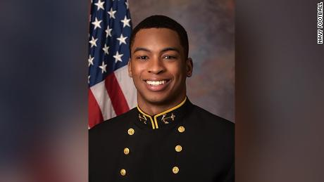 Cameron Kinley was captain of the US Naval Academy's football team this past year.