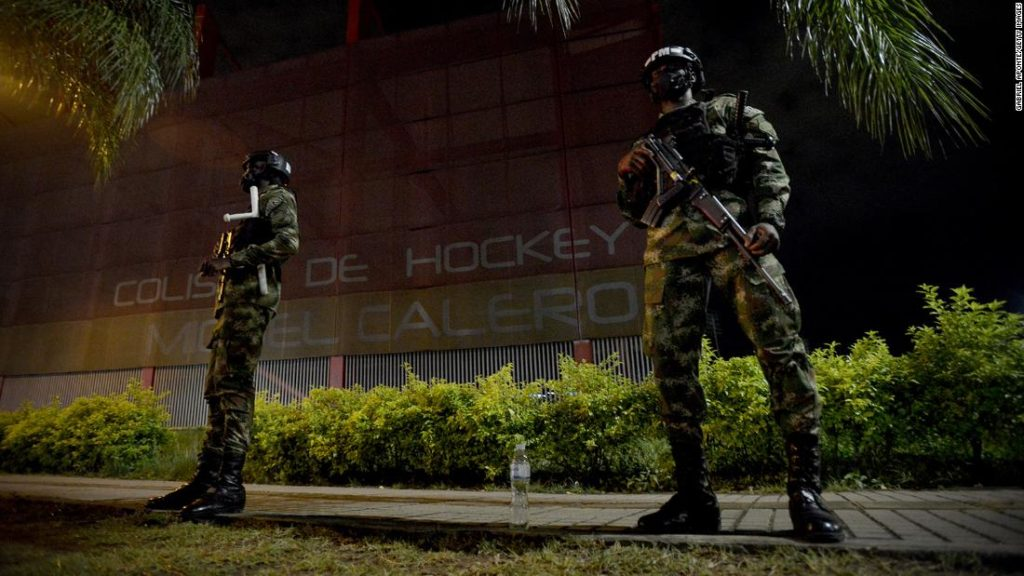 Colombia sends in troops, amid escalating violence