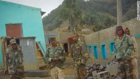 Eritrean troops disguised as Ethiopian military are blocking critical aid in Tigray