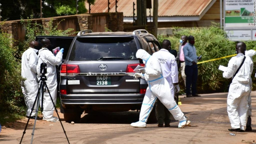 Gunmen kill Ugandan minister's daughter and driver in 'targeted shooting'