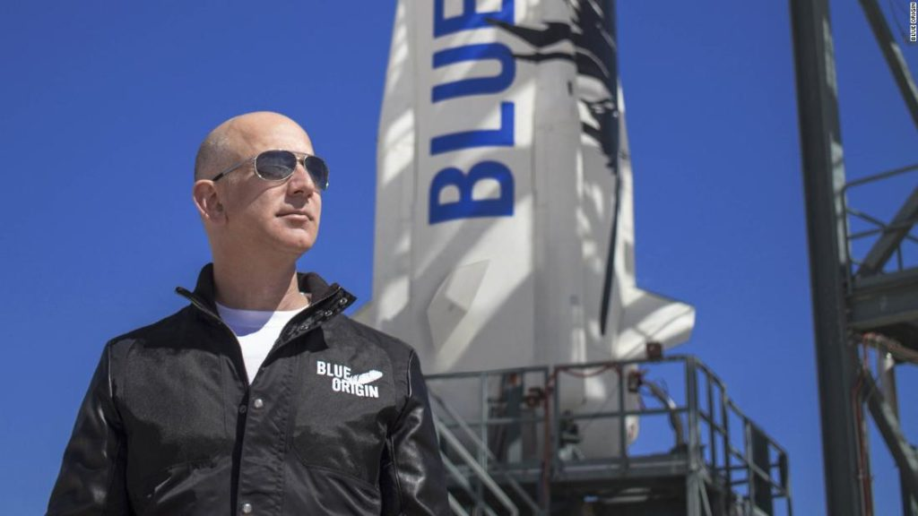 Here's what Bezos' trip to space will look like