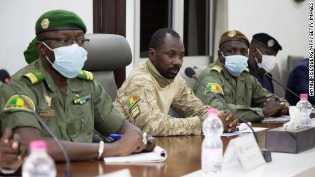 Mali's top court declares coup leader Goita as interim president