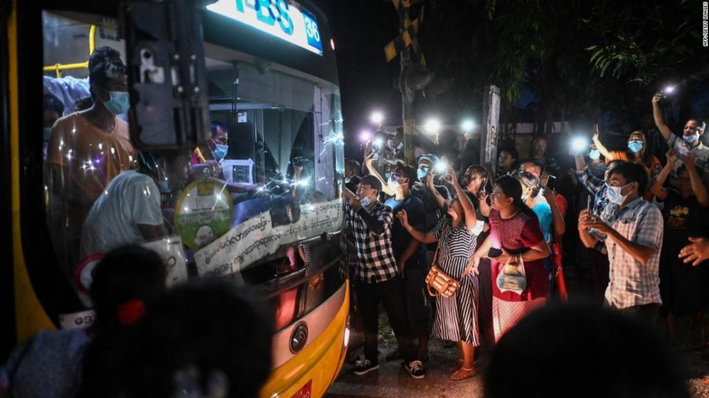 Myanmar frees more than 2,000 prisoners held since military coup