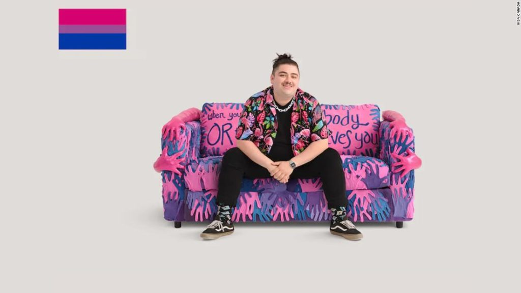 IKEA unveils LGBTQ-themed sofas -- and the internet has thoughts on its 'bisexual couch'