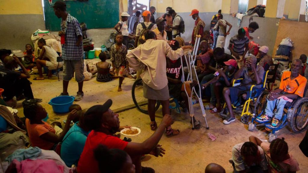 In Port-au-Prince, Haiti, thousands seek refuge from wave of violence