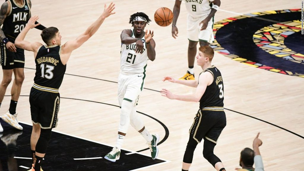 NBA: Bucks head to finals, Phoenix after slamming Hawks